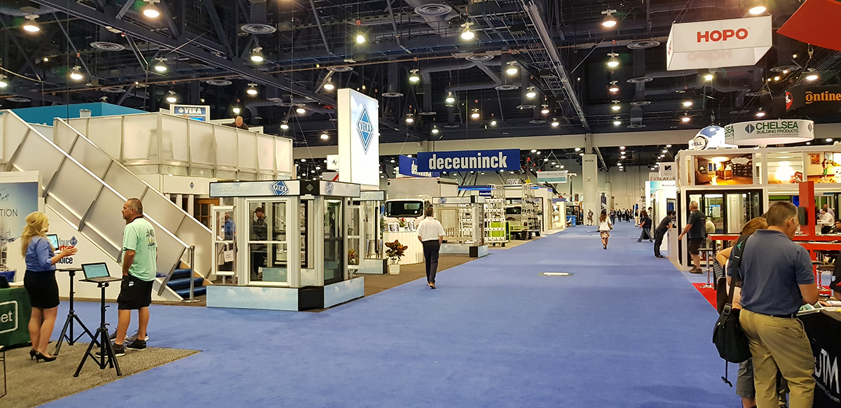 The Las Vegas Convention Center serves regularly as a venue for the GlassBuild